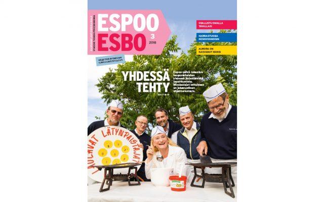Image of Espoo-lehti täyttyi juhlapäivän tapahtumista
